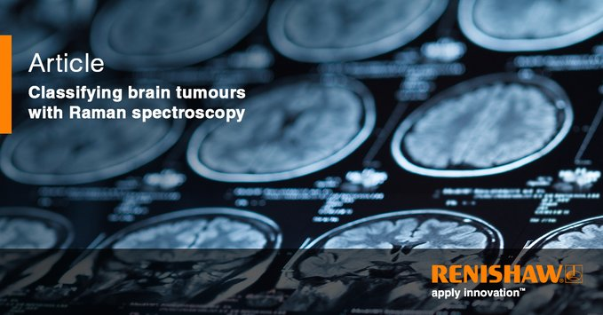 Classifying brain tumours with Raman spectroscopy