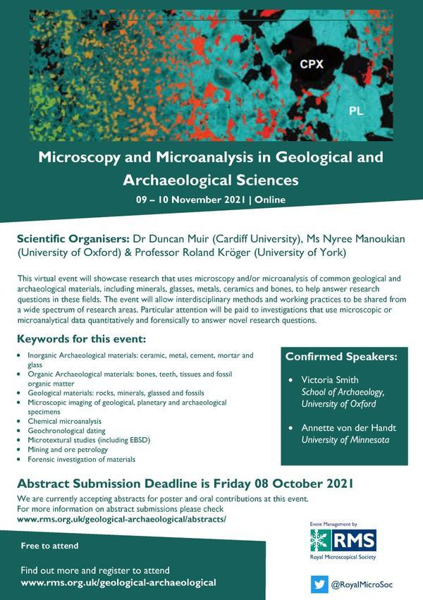 Geology Conference Flyer