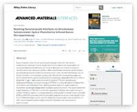 Advanced Materials O-PTIR Scientific Paper