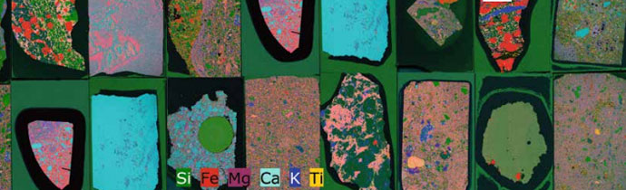 Large Elemental Distribution Maps