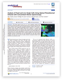 Scientific Paper: O-PTIR Analysis of Live Cells